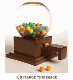 1.95 planos Glass-Globed Gumball Machine