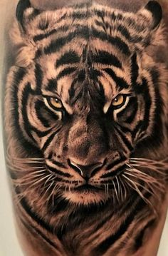 <<Check out more white tiger tattoos #tattoomenow #tattooideas #tattoodesigns #tattoos #whitetiger #tiger Mens Tiger Tattoo, Tiger Hand Tattoo, Tiger Tattoo Sleeve, Lion Tattoo Sleeves, Tiger Tattoo Design, Tiger Design, Cool Arm Tattoos, Best Sleeve Tattoos, Tattoo Sleeve Designs