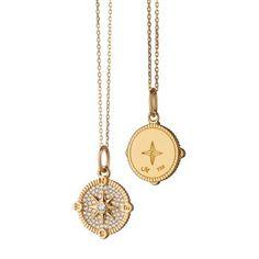 Jewelry Tattoo, Eye Jewelry, Charm Jewelry, Diamond Jewelry, Jewelery, Charm Necklaces, Diamond Pendant, Compass Necklace, Steel Chain