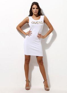 GUESS JEANS Elbise Markafoni'de 199,00 TL yerine 79,99 TL! Satın almak için: http://www.markafoni.com/product/3033773/