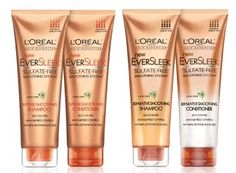 Loreal Ever Sleek Shampoo...  I've been using this shampoo for a couple months and my hair has never looked healthier. I don't know if it's my haircut or this shampoo. If you have thick dry course hair that gets frizzy in humidity it's perfect!