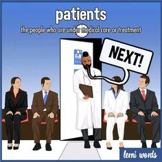 Patience and patients - Lerni Words