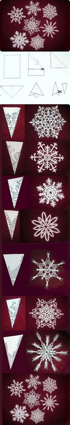 snowflake templates - love these - so pretty
