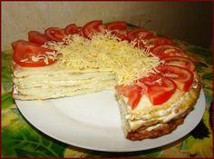 Nem telhet el egy nyár sem fokhagymás cukkini torta nélkül! - Bidista.com - A TippLista! Blue Food, Zucchini, Cabbage, Recipies, Cheesecake, Cooking Recipes, Vegetables, Breakfast, Desserts
