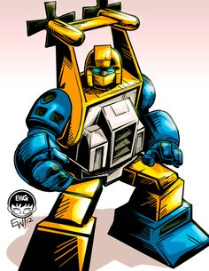 Seaspray -Transformers G1 - Commission by *EryckWebbGraphics on deviantART