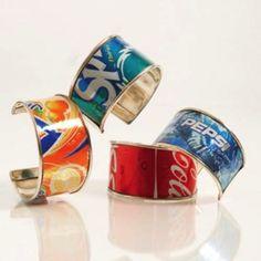 manualidades con latas de refresco 14