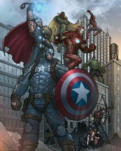 On deviantart avengers earth's mightiest heroes, avengers art, avenger Marvel Comic Character, Comic Book Characters, Comic Book Heroes, Marvel Characters, Avengers Earth's Mightiest Heroes, Avengers Art, Avengers Comics, Arte Dc Comics, Marvel Comics Art