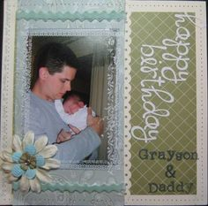 Happy Birthday Daddy & Grayson by Trish O'Brien - Cards and Paper Crafts at Splitcoaststampers