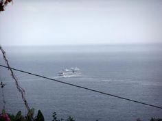 AIDAsol kann nicht auf La Palma Einlaufen