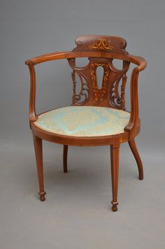 Edwardain Mahogany Occasional Chair   Antiques Atlas. Occasional ChairsEdwardian  EraFine Furniture. Edwardain Mahogany Occasional Chair   Antiques Atlas