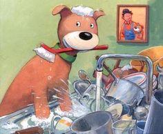 De Kinderboekerij: Karel Klus en Boris de hond