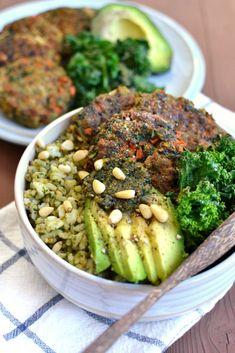St. Patty's Day Rice Bowl (Vegan, Gluten Free) | http://www.radiantrachels.com/st-pattys-day-rice-bowl/