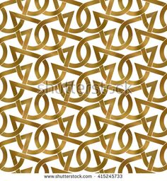 "Guten Tag Vector's ""#Golden #seamless #pattern"" set featuring high-quality, royalty-free images available for purchase on Shutterstock."