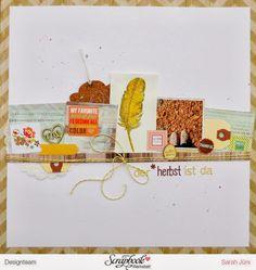 Novemberkit 2013 SBW - Layout Der Herbst ist da - Designteamarbeit von Sarah Jürs