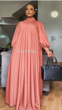 Ghana Fashion Dresses, Modest Fashion Hijab, Latest African Fashion Dresses, Abaya Fashion, Fashion Outfits, Long African Dresses, African Print Dresses, Mode Abaya, African Attire