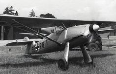 Focke wulf Fw 56 stosser in 1933 a small home defence fighter/trainer was needed .the type had good diving qualities as well about a 1000 were produced