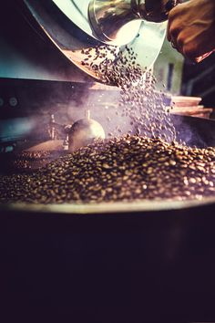 Coffee Roaster in Action *sunandeasy*