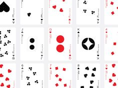 Mytton Williams - Playing Cards Calendar
