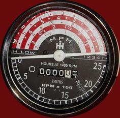 898471m91 Mph Tachometer For Massey Ferguson 135 148 Tractor 898469m91