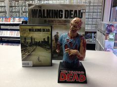 Hopefully your HOLIDAY SHOPPING didn't leave you feeling as ragged as this THE WALKING DEAD COLLECTIBLE FIGURINE looks!!!    ...find The Walking Dead DVDs..    ...and The Walking Dead CALENDARS...     ...and SIMILAR KICK-BUTT COLLECTIBLES like 'em...    @ The Exchange Stores NEAR YOU,,,