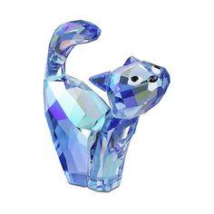 Swarovski House of Cats Tom Blue - $96