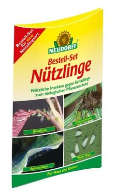NEUDORFF Bestell-Set Nützlinge gegen Schadinsekten
