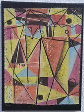 "Oil Painting on Canvas. ""Yellowbeard"""