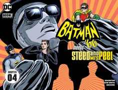 Weird Science DC Comics: Batman '66 Meets Steed and Mrs. Peel Chapter #4 Review
