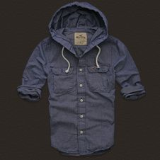 Hollister Shirt Hood- might be the only hollister shirt i would ever where