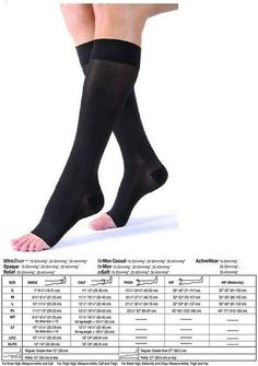 Pantyhose and Stockings 182053: Bsn Medical Jobst Ultrasheer 15-20 Mmhg Compression Knee High Open Toe Stockings -> BUY IT NOW ONLY: $40.05 on eBay!