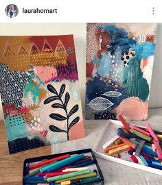 Art Journal Inspiration, Painting Inspiration, Tumblr Art, Colorful Abstract Art, Bohemian Art, Mark Making, Whimsical Art, Art Plastique, Botanical Art