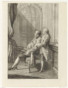 Louis Philippe d'Orleans et son fils Louis-Philippe Joseph, le duc de Chartres, Louis de Carmontelle, ca. 1737 - before 1806