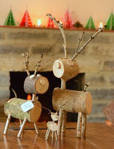 Rustic reindeer (available in small, medium and large)