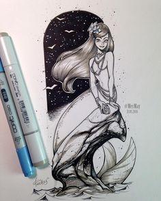 Mermaid by Redisoj