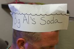 How to Craft a 1950s Soda Jerk Hat