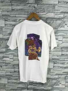 970f9c0c18 Vintage HARD ROCK CAFE Tshirt Medium 90 s Sportswear Hard Rock Cafe Cancun  Mexico Save The Planet White Tshirt Size M