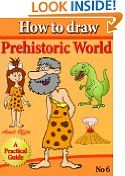 Free Kindle Books - Science - SCIENCE - FREE -  how to draw cavemen, dinosaurs and other creatures (that children love) step by step (how to draw comics and cartoon characters)