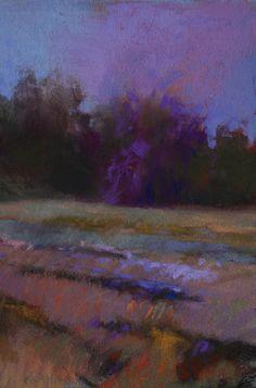 Casey Klahn,   Violet in the Treeline.