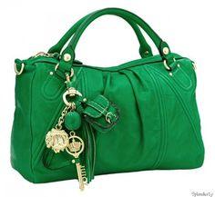 Tassels can dress up a purse…