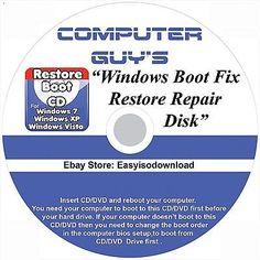 Boot CD for Acer Windows 10 Computers Fix/Repair/Restore CD
