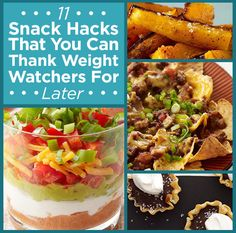11 Snack Hacks That You Can Thank Weight Watchers For Later