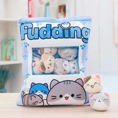 Blue Pillows, Throw Pillows, Unique Gifts For Kids, Cat Pillow, Cushion Pillow, Kawaii Plush, Cute Penguins, Squishies, Plush Animals