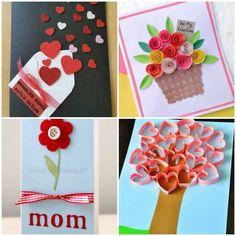 Atividades com Pintura para Dia das Mães - Pop Lembrancinhas Bingo, Playing Cards, Craft Cards, Easy Crafts, Budget Crafts, Hand Heart, Cool Messages, Special Gifts, Playing Card Games