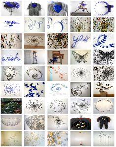 Many Paul Villinski butterflies