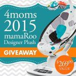 Right Start and 4moms mamaRoo Giveaway Starts 1/20/15! - Visit blog.rightstart.com for more details!