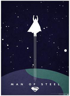 minimalist_man_of_steel_poster_by_cloudbomb7-d65ft5u | Flickr