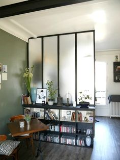 miroir atelier verri re horizontale rectangulaire en m tal noir cuisine pinterest atelier. Black Bedroom Furniture Sets. Home Design Ideas