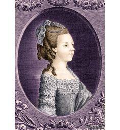 The youngest sister of Louis XVI in her teens. (Via Vive la Reine.)