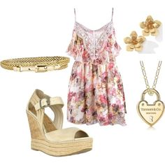 Outfit for high school graduation