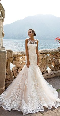 Such a stunning Milla Nova Wedding Dresses #bride #weddingdress #weddingplanning